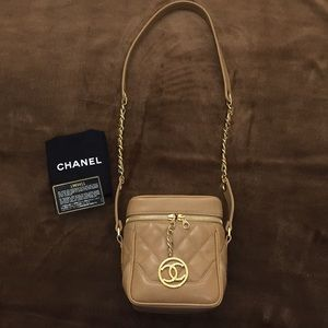 Authentic CHANEL Box Crossbody Bag